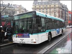 Man NL 223 – RATP (Régie Autonome des Transports Parisiens) / STIF (Syndicat des Transports d'Île-de-France) n°9129