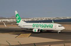 F-GZHX Boeing 737-800 Transavia Arrecife 29-02-2020