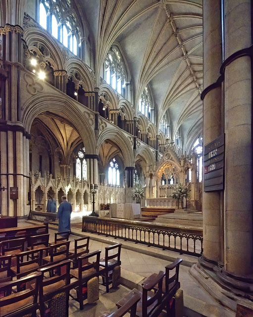 Angel Choir, Lincoln Cathedral, England