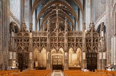 Albi's Sainte-Cécile Cathedral Roodscreen