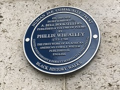 Phillis Wheatley plaque