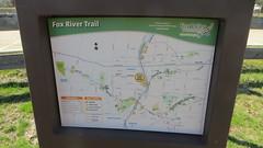 20190413 09 Fox River Trail map