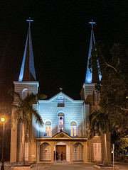 Basilica of St. Mary Star of the Sea- at night_2020
