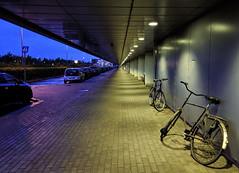 Night at Copenhagen Airport