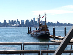 Boat at Lonsdale Quay
