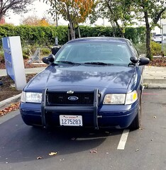 Alameda County Sheriff Ford Crown Victoria slicktop Peralta Community College Police front