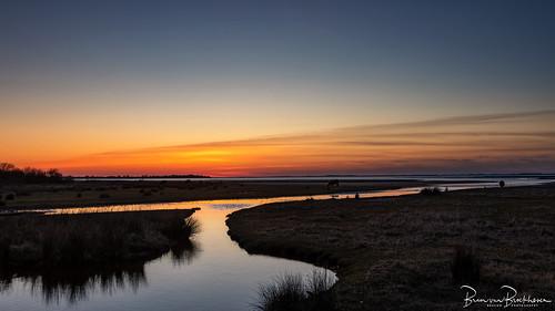 """After Sunset """"Slikken van Flakkee"""""""