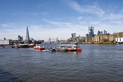 Thames Panorama from Rotherhithe