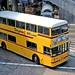 Hong Kong 1982: Citybus D8 (CC7266) in Connaught Road, Hong Kong Central