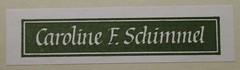 Penn Libraries Schimmel Fiction 5332: Bookplate/Label