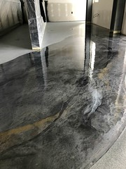 Metallic Marble Epoxy- Lorenzo's Painting & Remodeling- Colorado Springs, CO