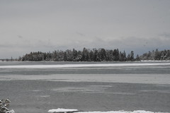 Bass Cove - Drummond Island during the winter