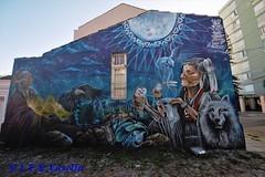 Cura ancestral - graffiti - Travessas dos Venezianos