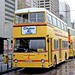 Hong Kong 1982: Citybus L17 (CP2221) in Hong Kong Central (Cleverly Street) Bus Terminus