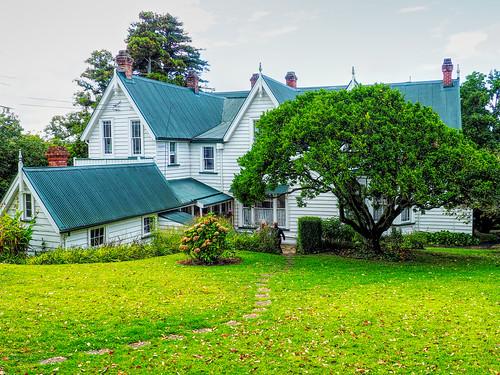 Alberton House - from the back garden