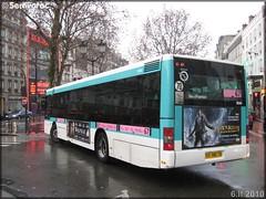 Man NL 223 – RATP (Régie Autonome des Transports Parisiens) / STIF (Syndicat des Transports d'Île-de-France) n°9040
