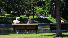 Afternoon in Parc La Fontaine (3)