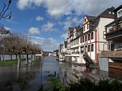 Hochwasser in Leutesdorf