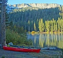 Alpine Lake Sunrise, Sierra Nevada, CA 2018