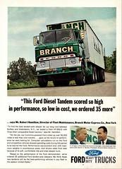 1966 Ford HT-950-D Diesel Tandem Truck