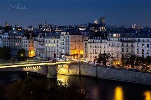 Pont de la Tournelle & Quai de Béthune, Paris