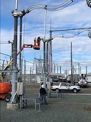 Tracy substation maintenance and repairs