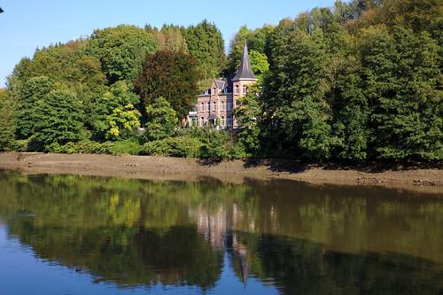 La Meuse à marée basse