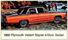 1969 Plymouth Valiant Signet 4-Door Sedan