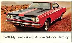 1969 Plymouth Road Runner 2-Door Hardtop