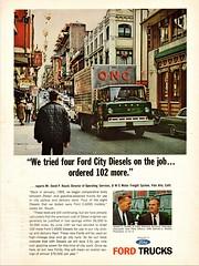 1965 Ford C-6000 Diesel Van