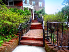 Pathway to Building Entrance