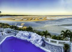 Blue & Gold Morning Tampa Bay Florida At Low Tide - IMRAN™