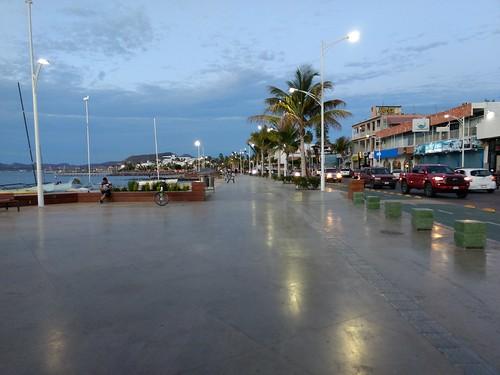 The La Paz malecon