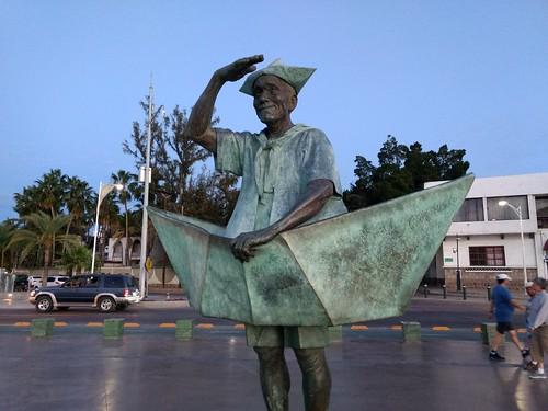 Sculpture at La Paz malecon