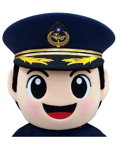 海巡署北部分署-男警偶頭