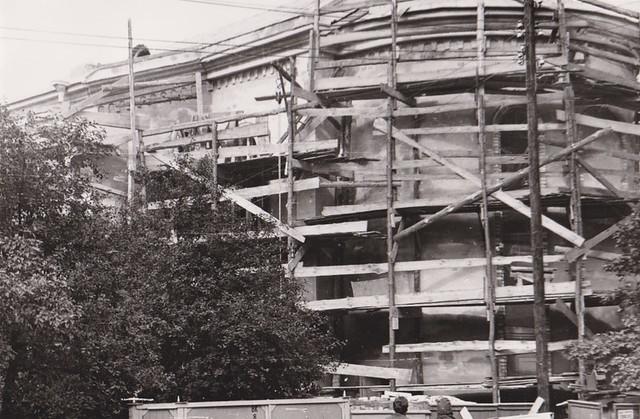 Стройка молитвенного дома 1980-1981