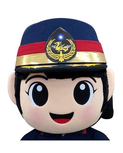 海巡署北部分署-女警偶頭