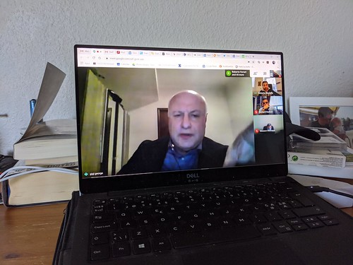 George Tsereteli participates in online Bureau meeting, 25 March 2020