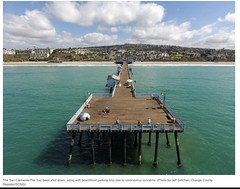 Gone: San Clemente Pier and parking lots