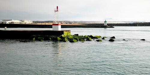 L'embouchure de l'Adour.