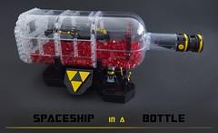 Spaceship in a bottle