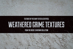 Weathered grime textures