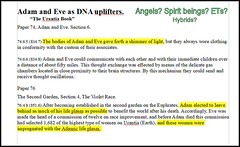 Adam & Eve, spirit beings. This looks a lot like what we would call alien / human interaction, but they seem really to be spirit beings.  Reference: https://www.urantia.org/urantia-book-standardized/paper-76-second-garden.