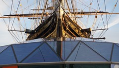The Prow of the Cutty Sark