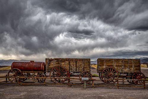 Cloudy Day at Harmony Borax Works