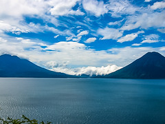 Clouds, Mountains, Lakes