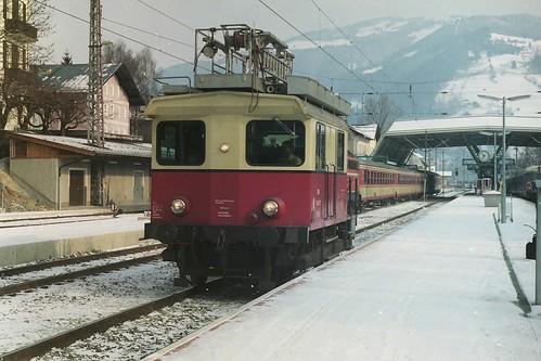 ÖBB X534.77 at Zell am See