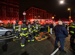 Fire at Central Park North-110 St Station