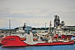 Ships in Port in Scotland