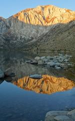 Covict Lake Sunrise, Sierra Nevada, CA 2019
